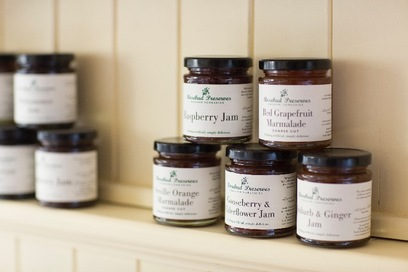Rosebud Preserves at breakfast or to take home